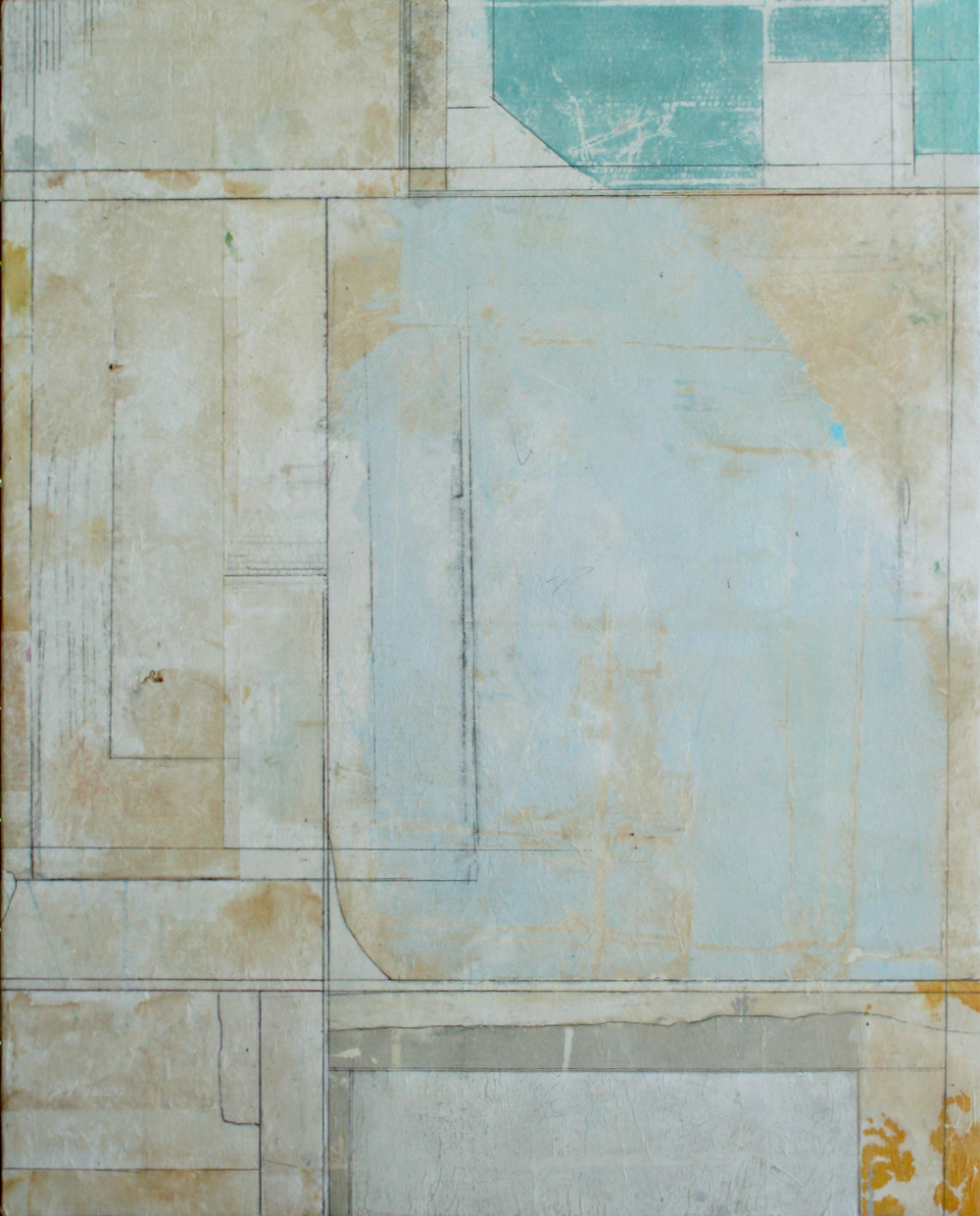 ephemera  mixed media on panel  60 x 48  .  .