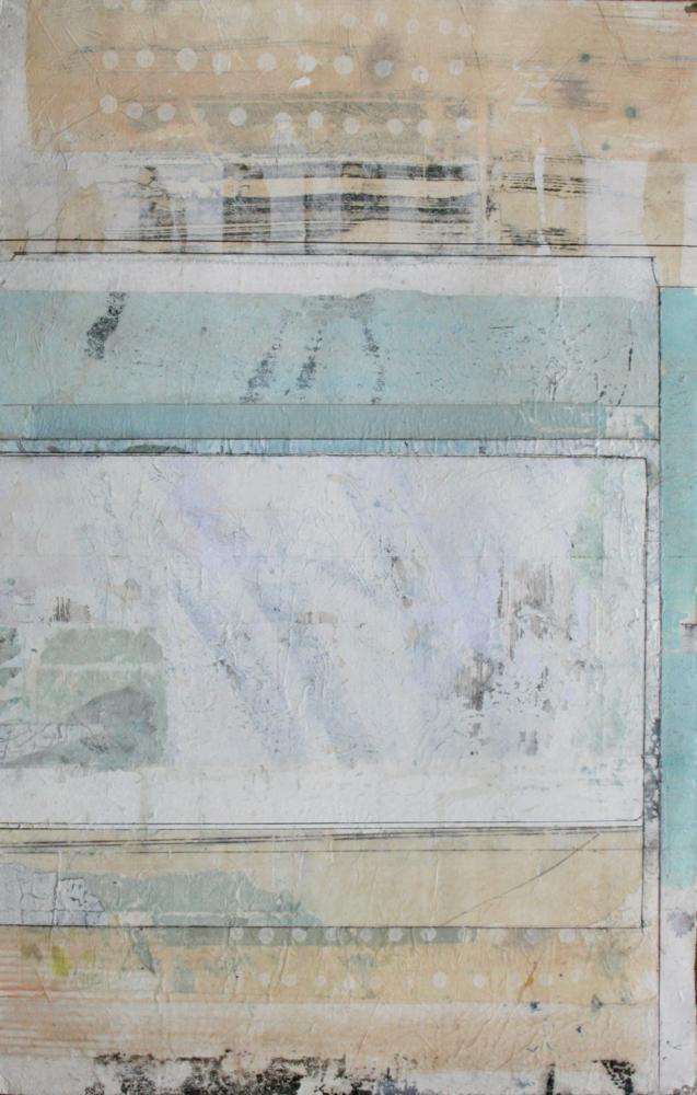aquifer  mixed media on paper  40 x 26  .  .