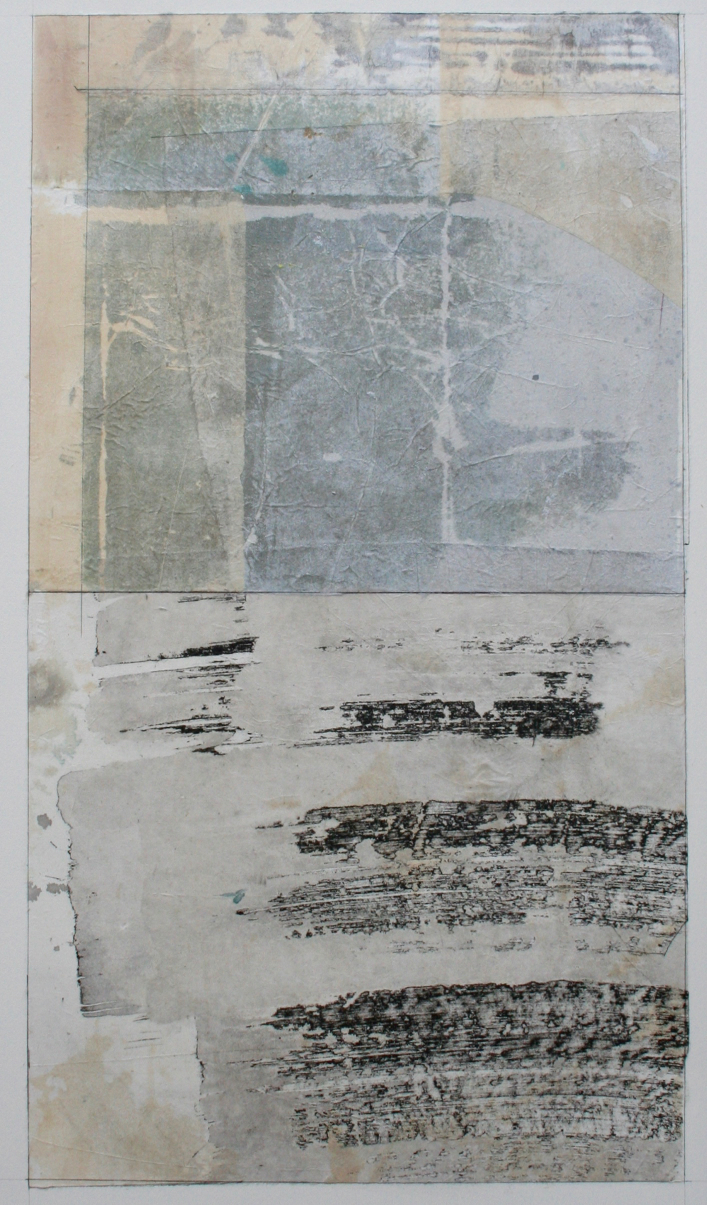 essential  mixed media on paper  40 x 26  .  .