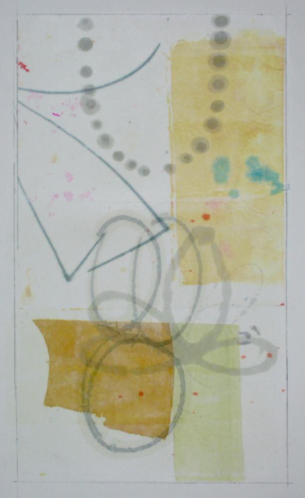 wonderland V  27.5 x 17.5  mixed media on arches paper  .  .  .