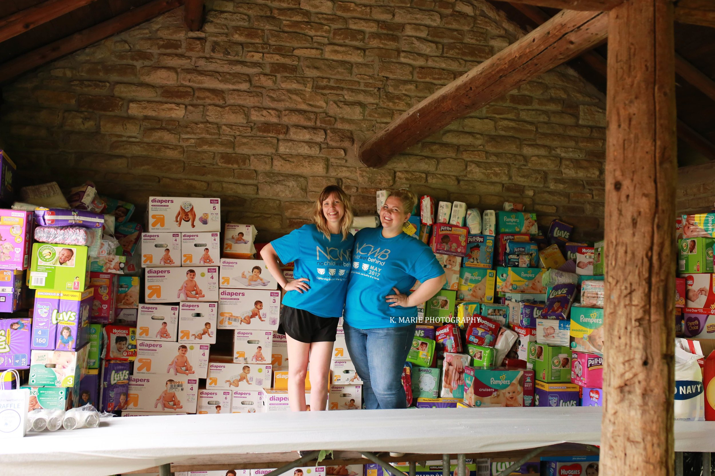 Doulas of Cincinnati No Child Wet Behind Cincinnati Diaper Drive