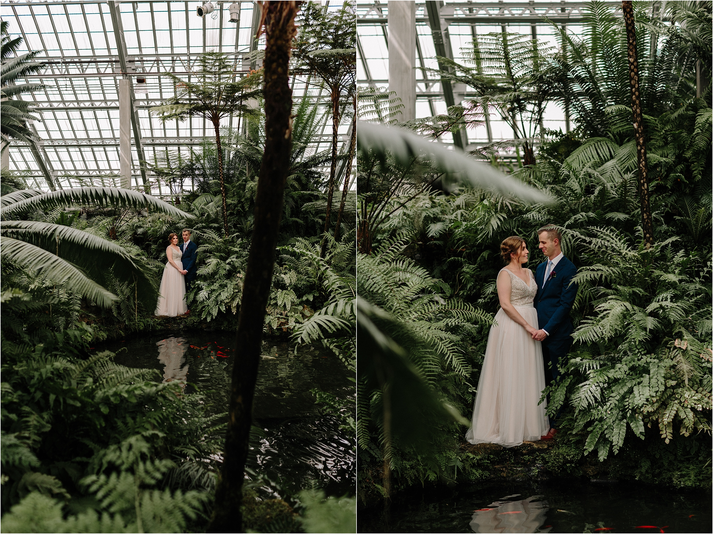 Garfield Park Conservatory Wedding.Erika Mattingly Photography Chicago Wedding And Lifestyle Photographer