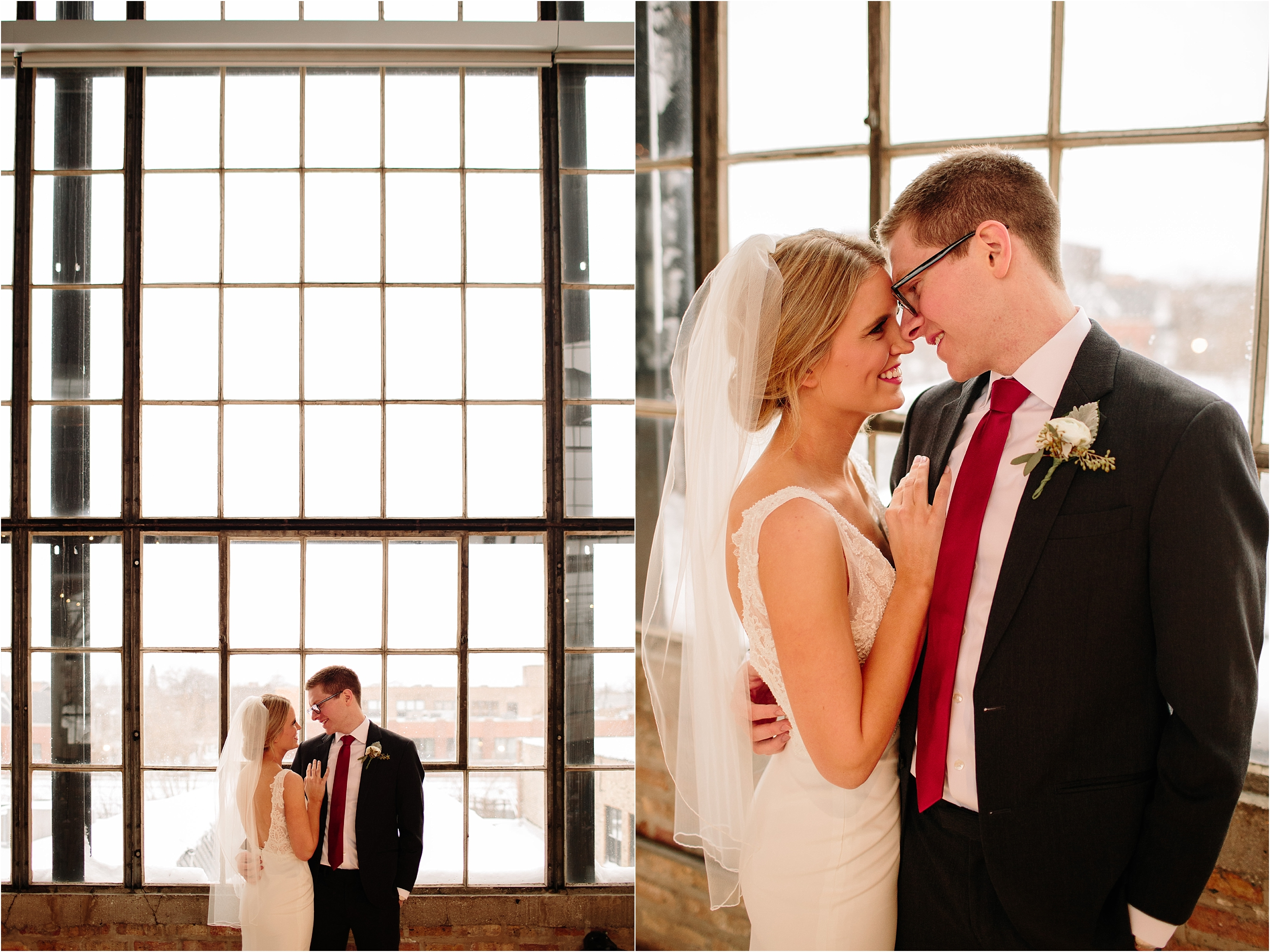 Ravenswood Event Center Chicago Winter Wedding