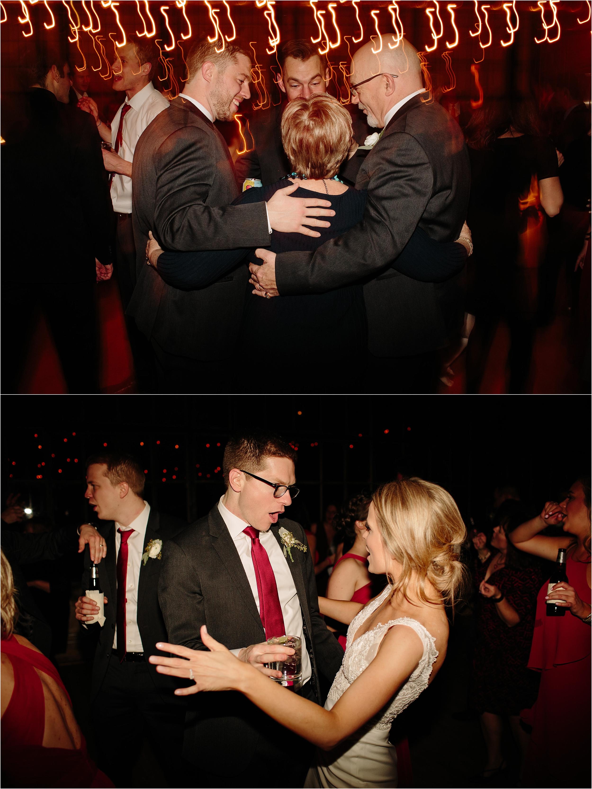 Ravenswood Event Center Chicago Winter Wedding