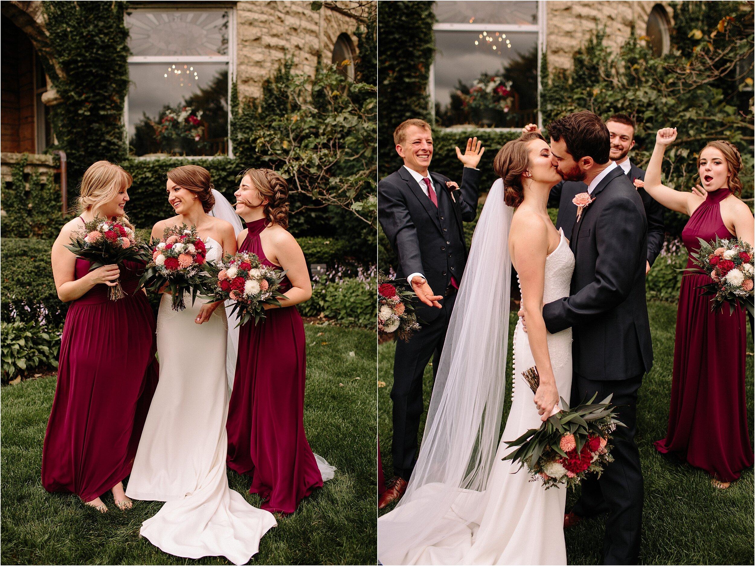 The Haley Mansion Joliet, IL Wedding