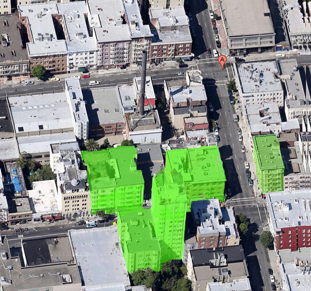 San Francisco Ghost Sign Map Research