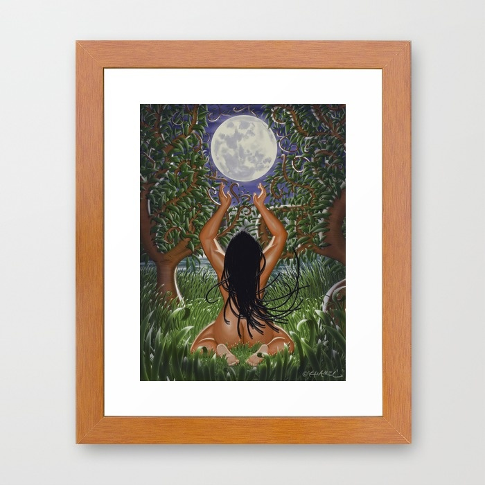"""Naturelle"" Framed Art Print"