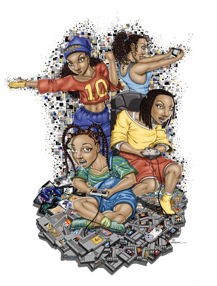 """Growing Up Nintendo"" Art Print"