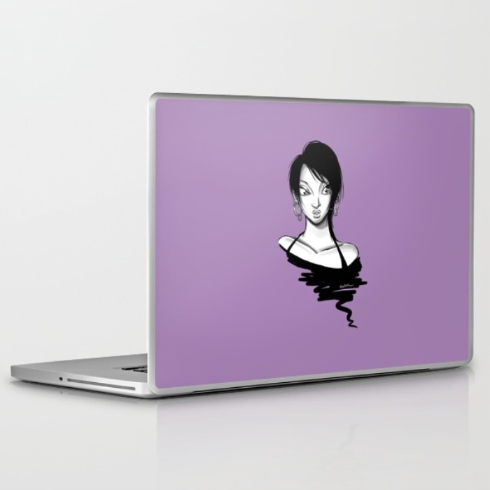 """Hoops"" PC Laptop Skin"
