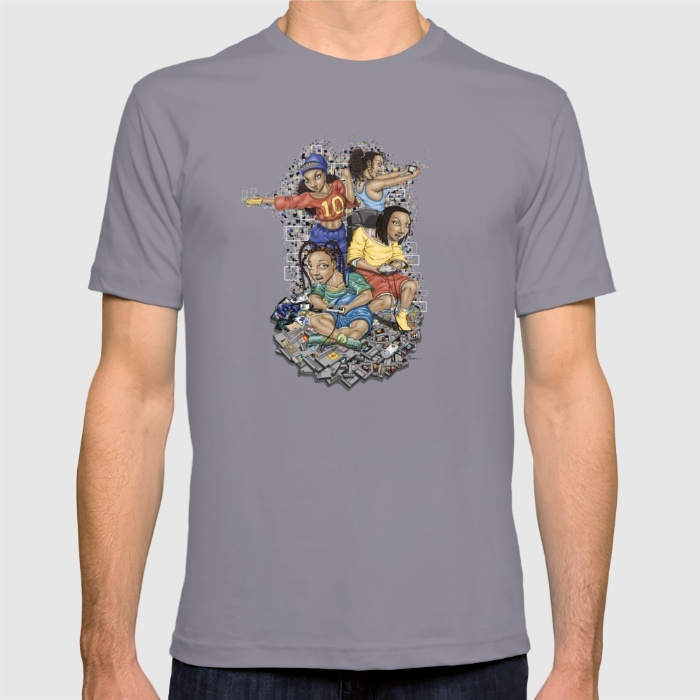 """""""Growing Up Nintendo"""" Fitted Tee"""