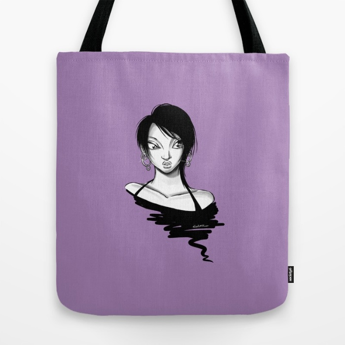 """Hoops"" Tote Bag"