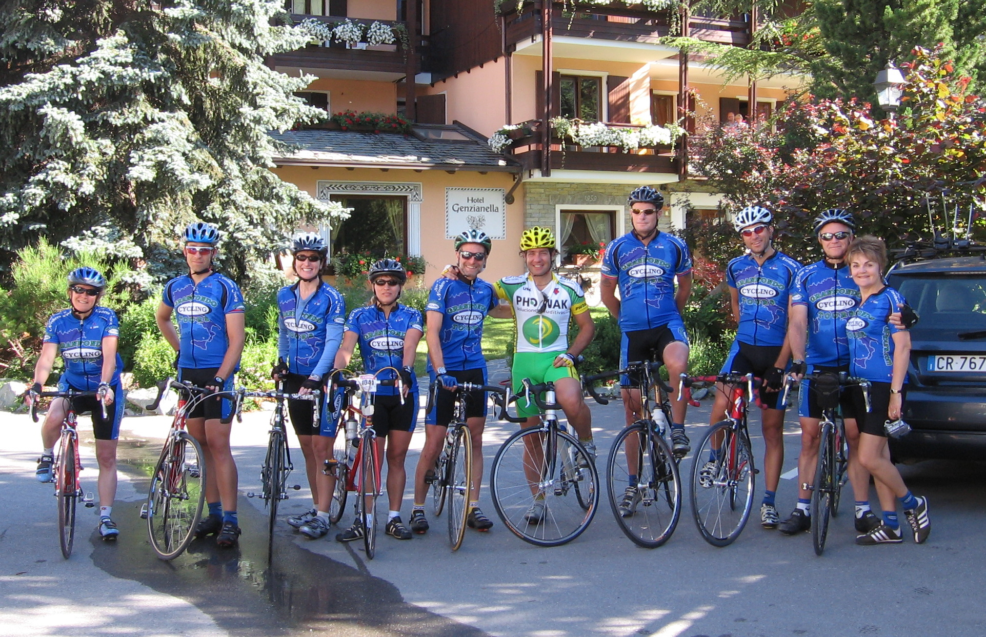 cycling in bormio