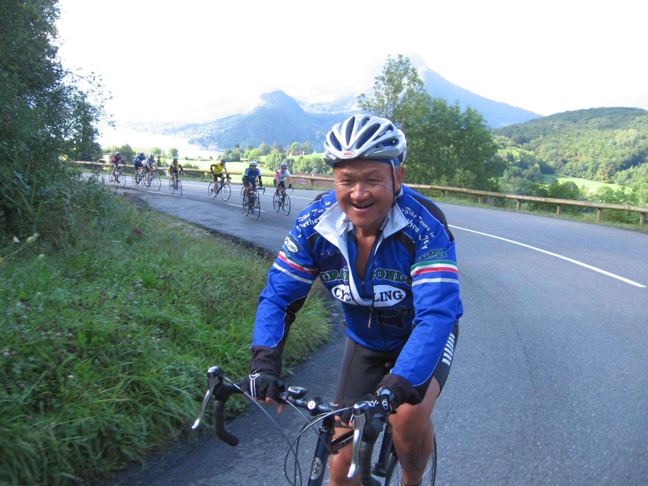 bike ride in france