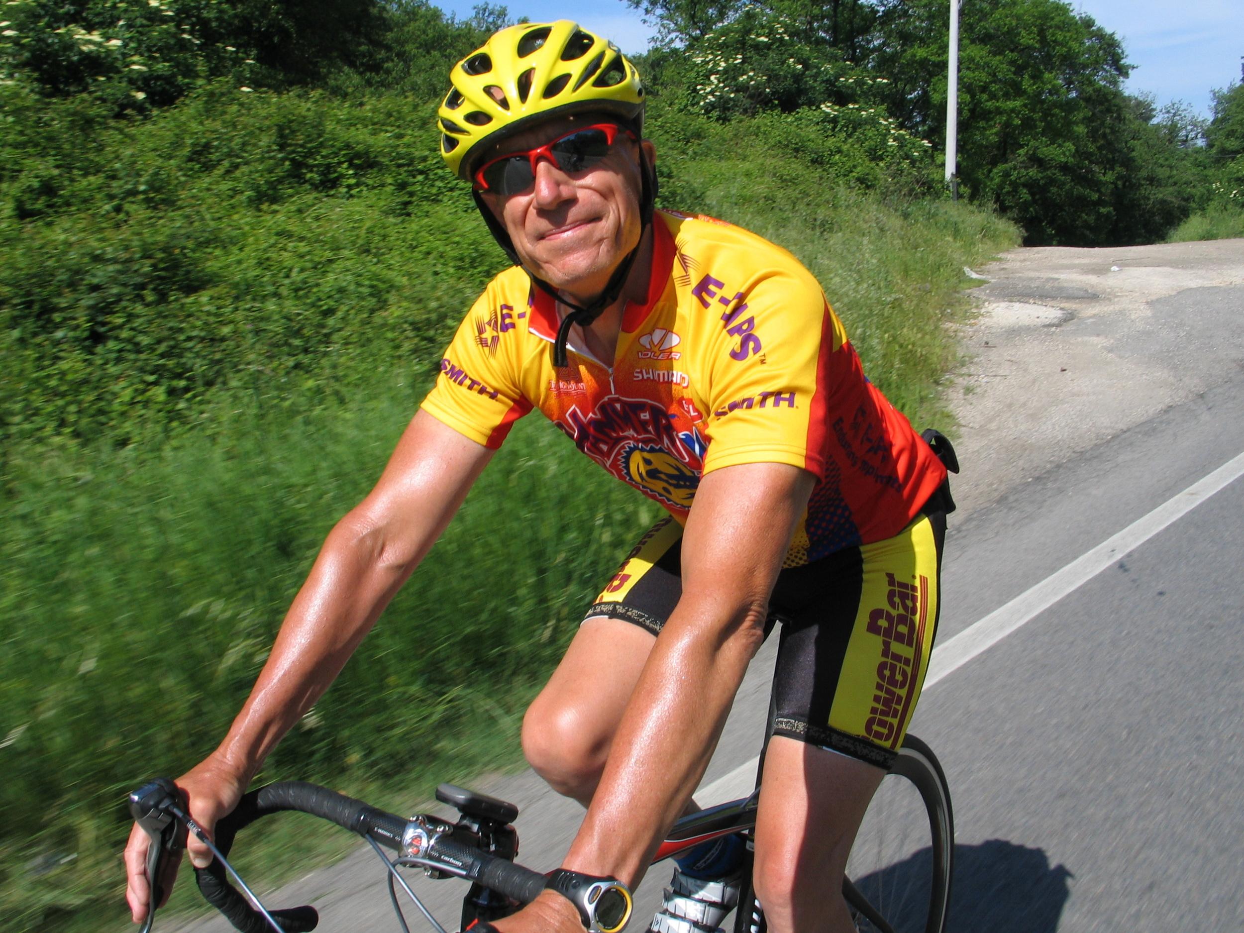 cycling in tuscany italy