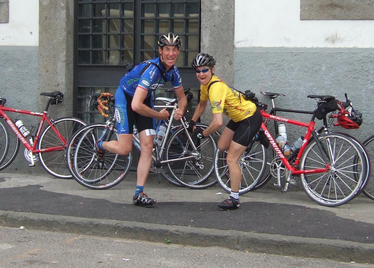 on tour biking in italy