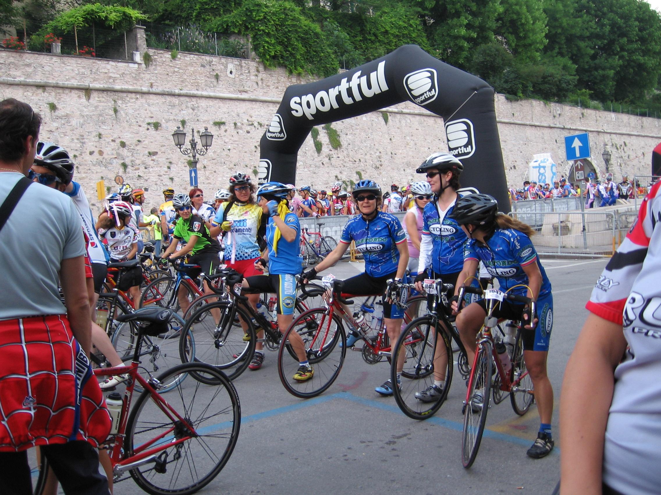 Bike tour photo in Italy alps