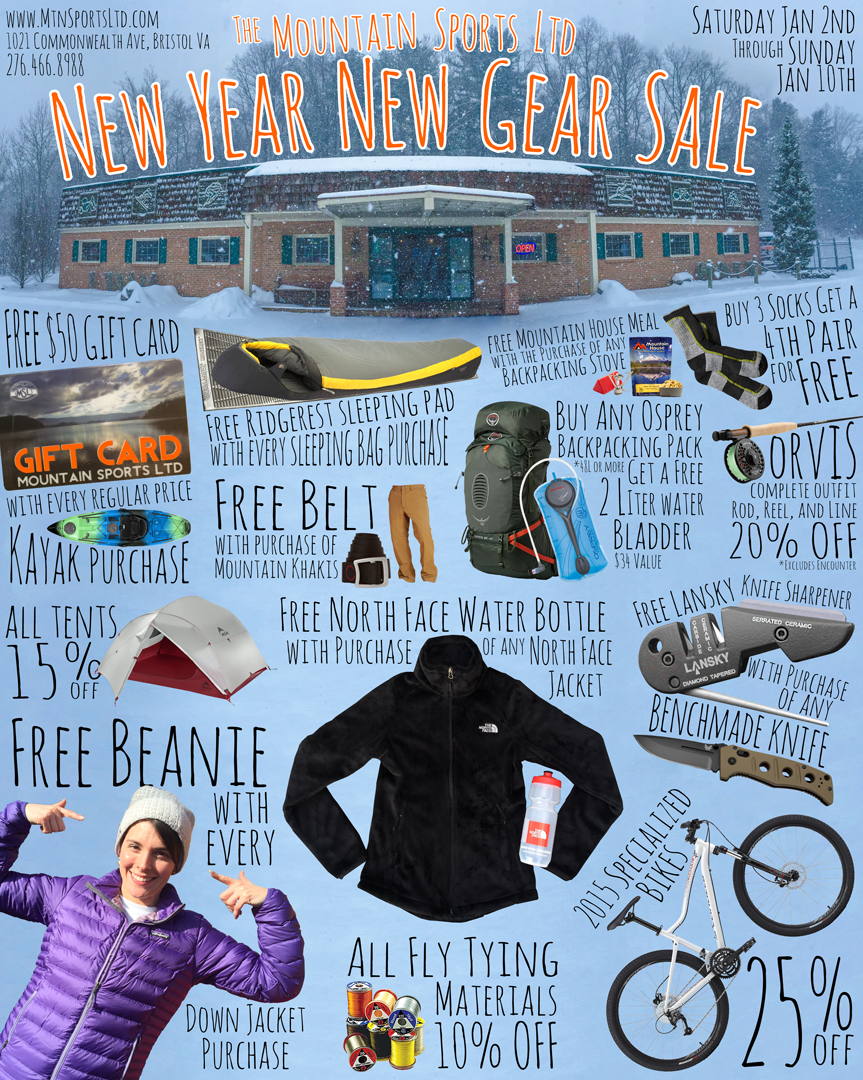 New Year New Gear Sale!