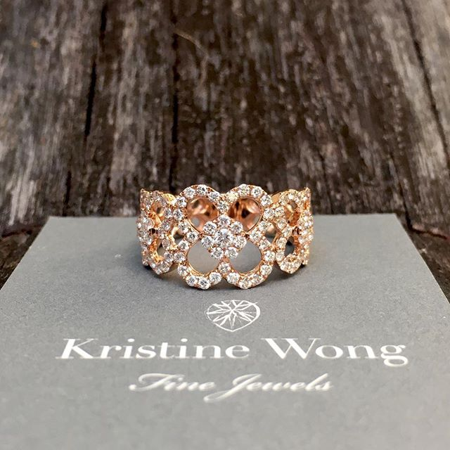 A favourite from our signature range #kristinewongfinejewels #kwfj