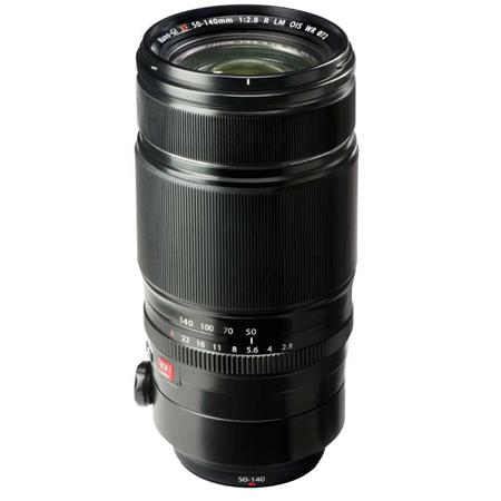 Fujifilm XF 50-140mm F2.8 LM OIS WR Lens - This is the mamba jamba of the XF line.  This is the equvalent of 76-213mm lens on a full frame camera.  It's so sharp you'll cut your finger rand with the large constant 2.8 operation, coupled with Image Stabilization, you're ready for anything.