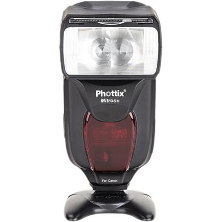 Phottix Mitros+   All in one flash that fits on top of your camera.  Built in TTL, receivers for two different triggers and transceiver to trigger other speed lights!  It's like Christmas, Easter and your birthday all rolled up in one!