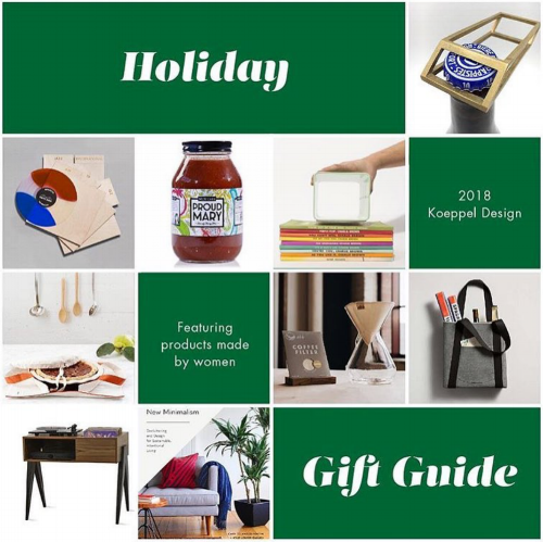 Gift Guide Koeppel Design 2018