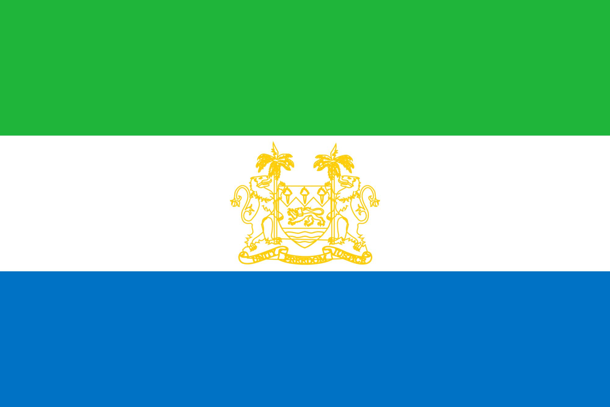 Sierra Leonean Flag