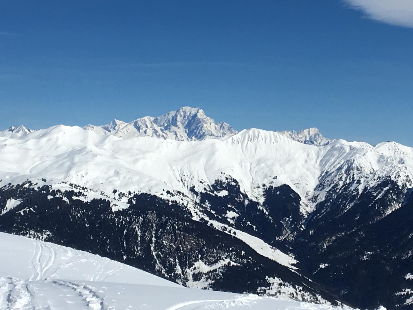 Summit Mont Blanc 2020