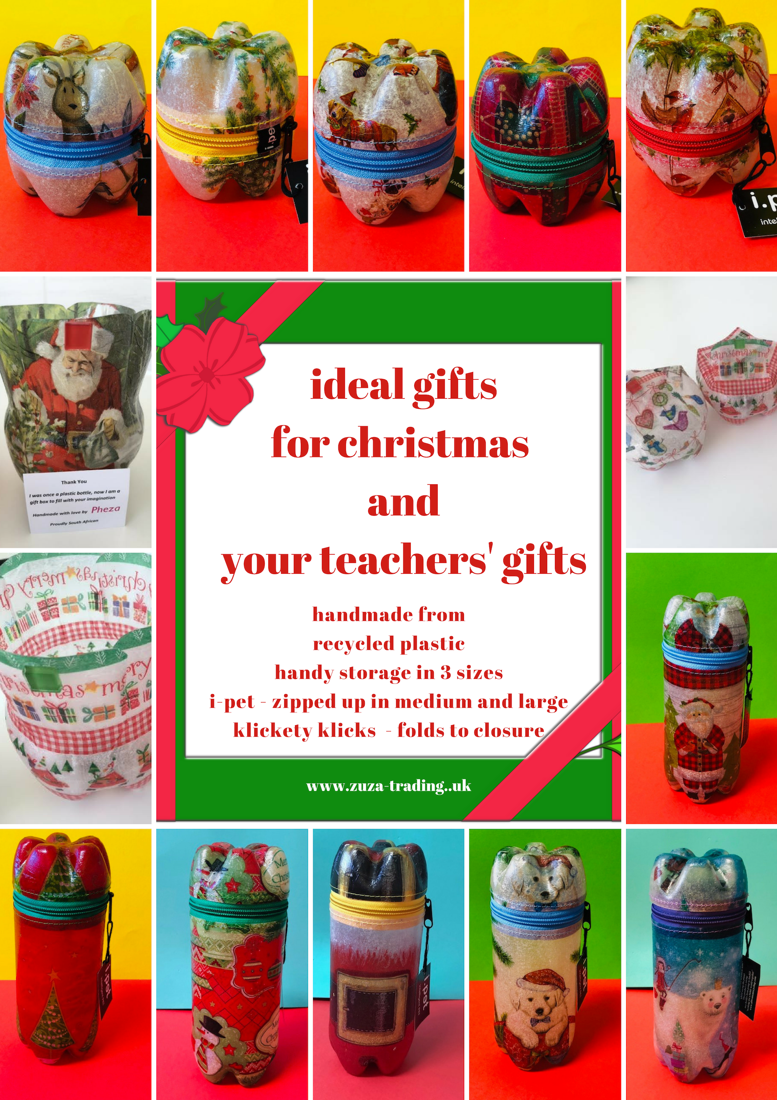 ethical christmas gifts recycled plastic boxes
