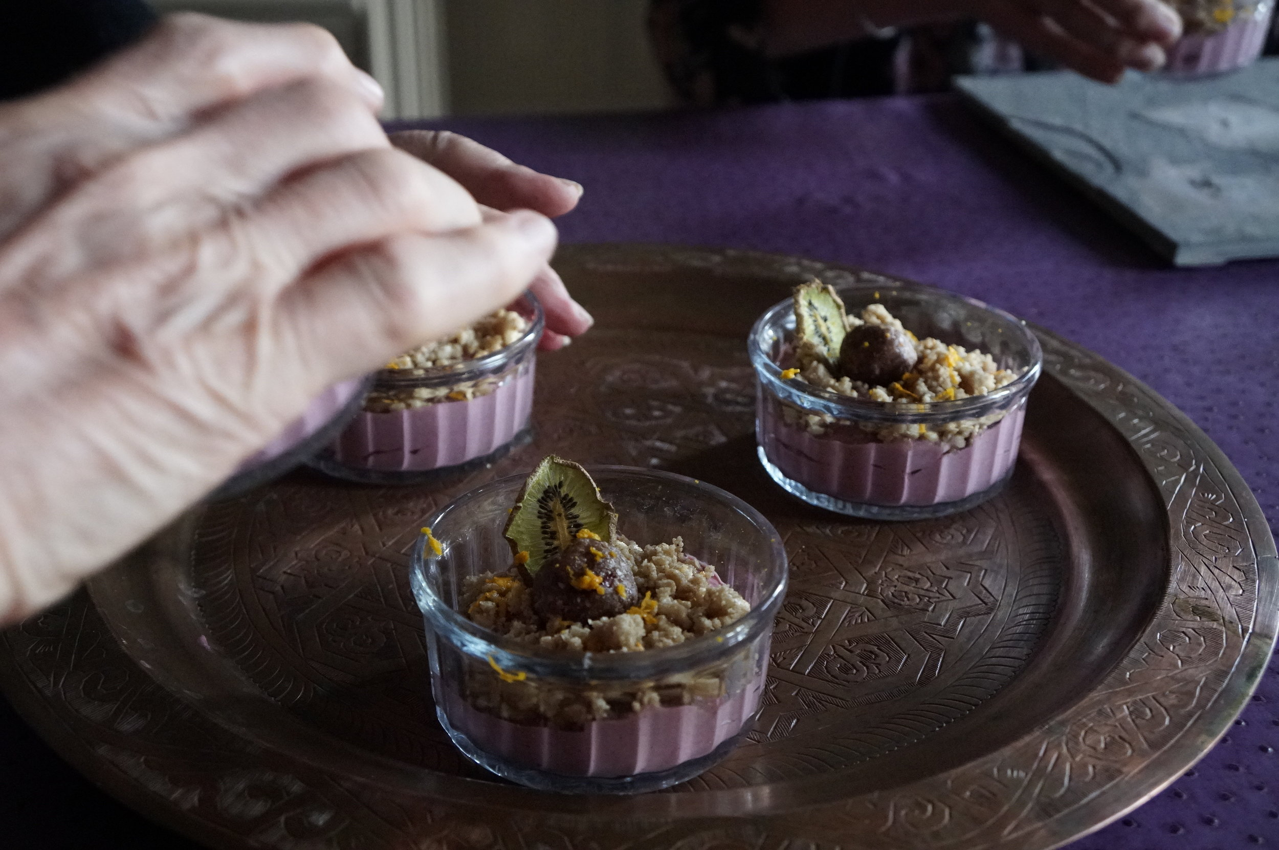 New to raw plant based deserts, free from sugar, dairy and wheat