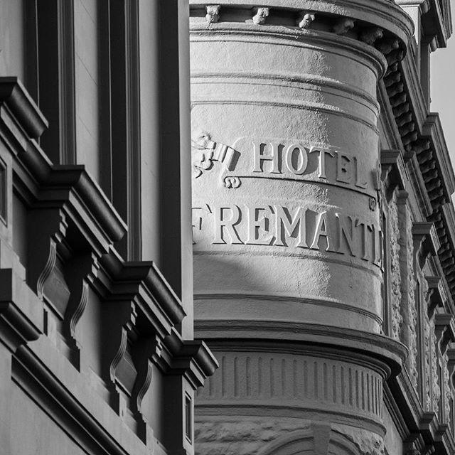 More fremantle wondering - Detail ⠀ .⠀ .⠀ .⠀ #Fremantlewa #westernaustralia #buildingdetail #heritagebuildings #charactorbuildings #fremantlecharm #fremantleheritage #blackandwhitephotogrpahy #photographyart