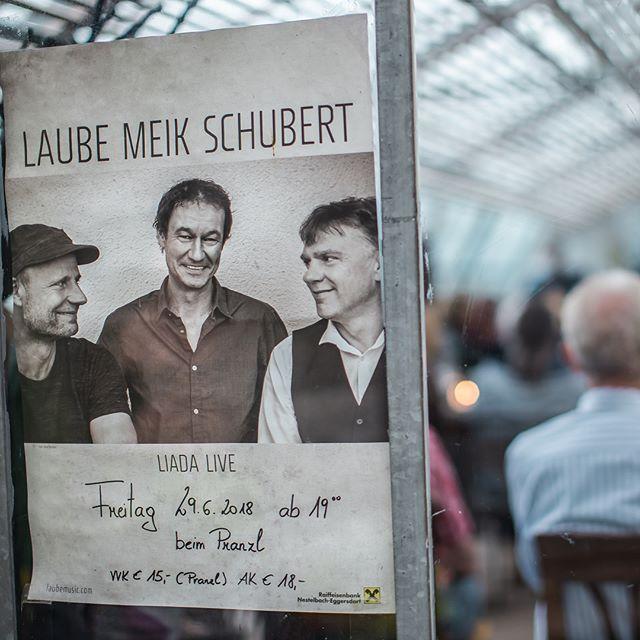 """Das war """"Laube, Meik & Schubert"""". Danke an alle für den netten & gemütlichen Abend.  #interior #derpranzl #blumen #flowersandmore #fairtrade #minimalistic #ennstal #irdning #laubemeikschubert"""