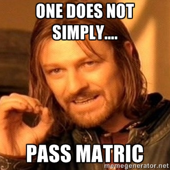 Matric Meme