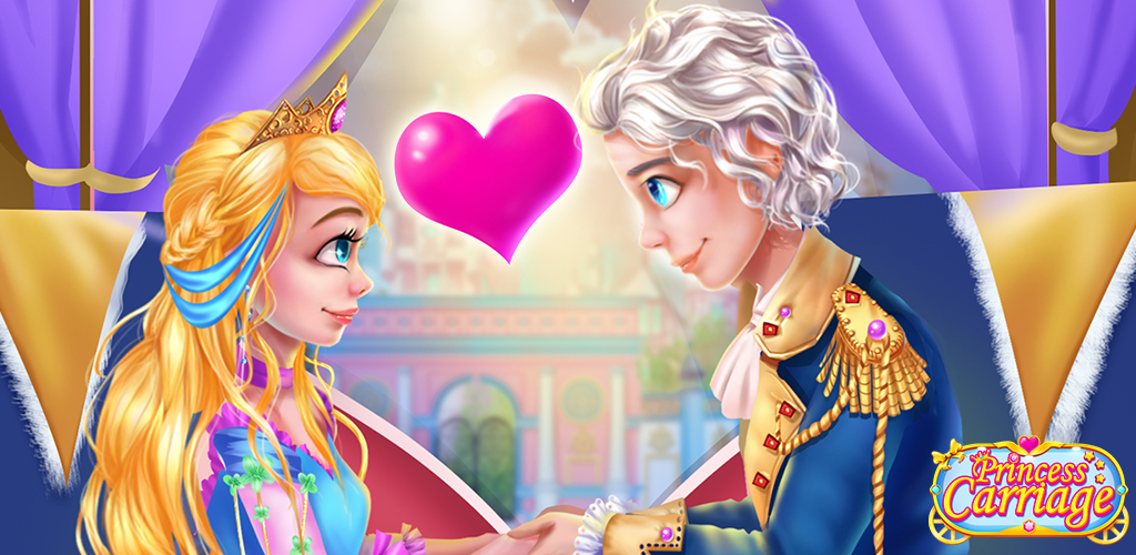 PRINCESS ROYAL CARRIAGE DATE  Get ready for a royal carriage ride with your handsome prince in this fun game where you play the princess of a gorgeous kingdom!