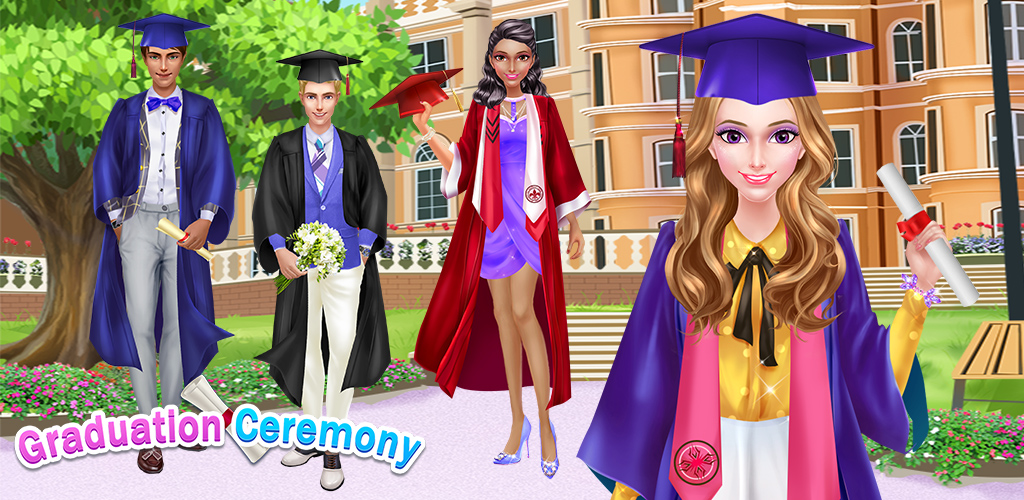 HIGH SCHOOL FASHION STORY  Graduation day is here! You've worked hard for many years to learn and grow into a smart, prepared adult!