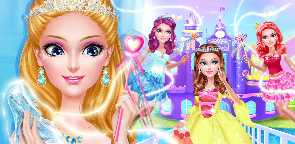 MAGIC PRINCESS: DRESS DESIGNER  There are big perks to being the princess of a magical castle. As royal princess of the land, you have your very own salon right in the castle!