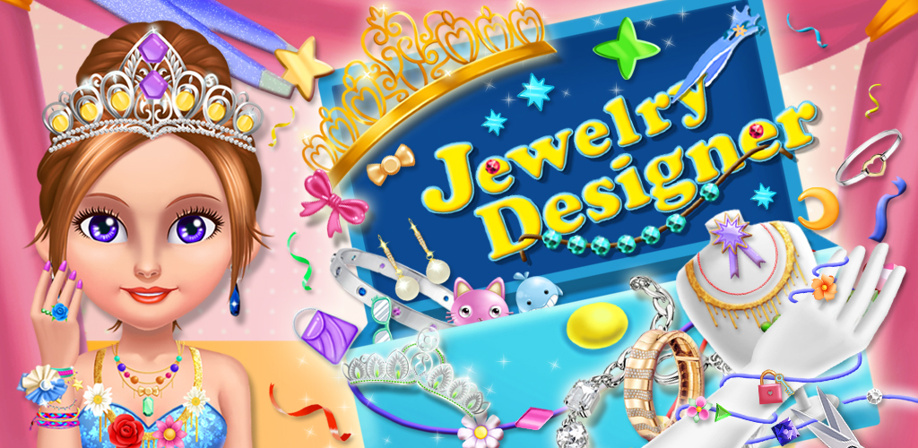 MY ZIG ZAG JEWELRY MAKER SALON  Young girls love designing beautiful jewelry and creative accessories. With Jewellery Designer, your girls can craft beautiful shining diamonds, gold and silver earrings, bracelets and more.