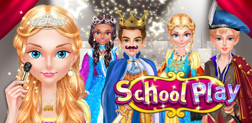 SCHOOL PLAY - COSTUME DRESS UP  It's time to prepare for the school play! This play is a series of three plays, each featuring beloved characters from the theatrical tradition!