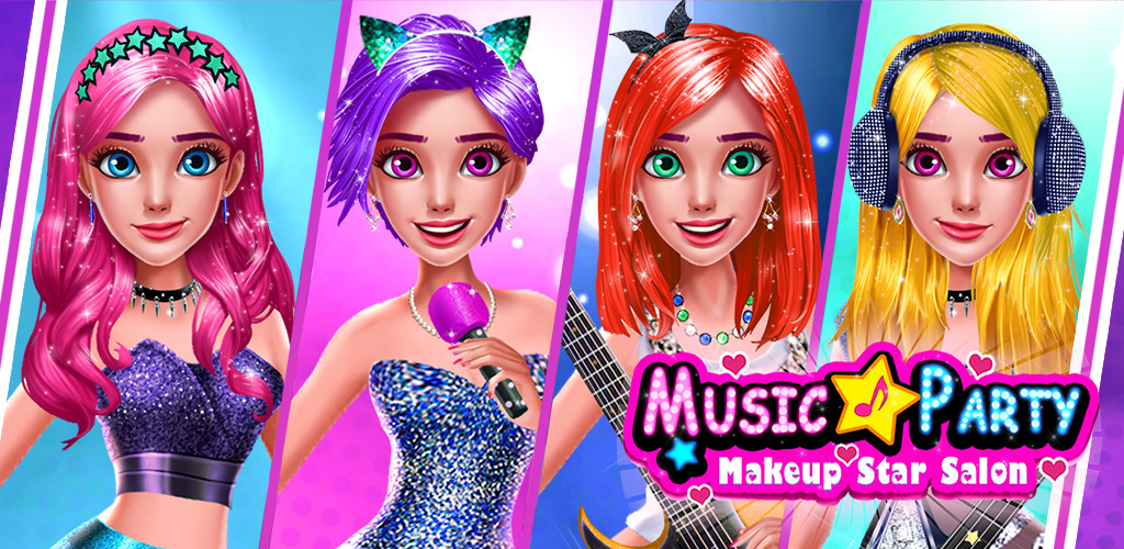 Pop Music Star: World Tour  Make yourself even more beautiful with your amazing glitter tools! Glam up with cool facials and sparkle hairstyles! Use professional makeup tools to create the real rock star look! Design your stunning dress and add pop stickers!