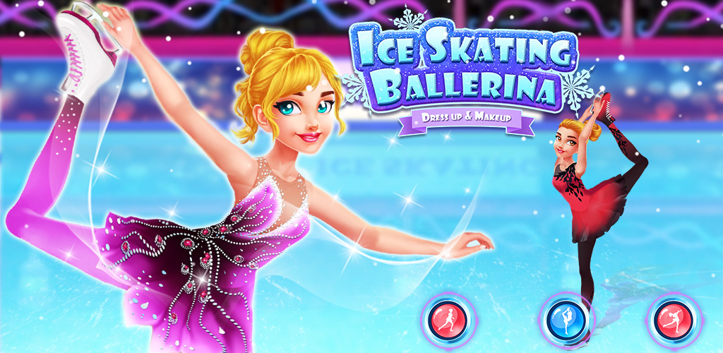 Ice Skating Ballerina: Dress up & Makeup Girl  Riley is a figure skater of the school Ice Skating team. Her dream is to become a professional figure skater and to compete for the Olympics! She got selected to the big competition which might be the chance to get in the national team!