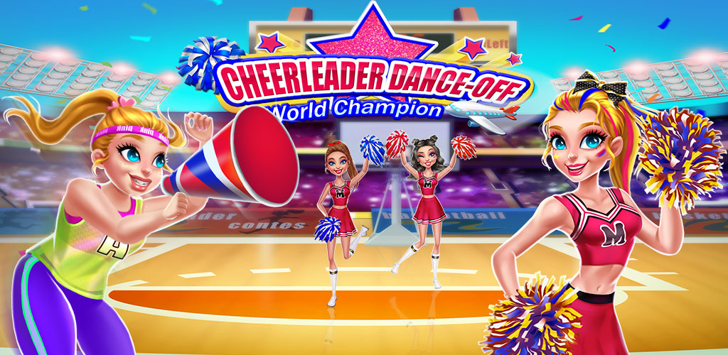 Cheerleader Superstar: World Championship  It's Cara's dream to be a cheerleader and she made it! Now it's time for her to rushed out to the world! In Cheerleader World's dance-off Competition, help Cara prepare for the championship!