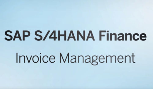 SAP Invoice Management — Avelon Be