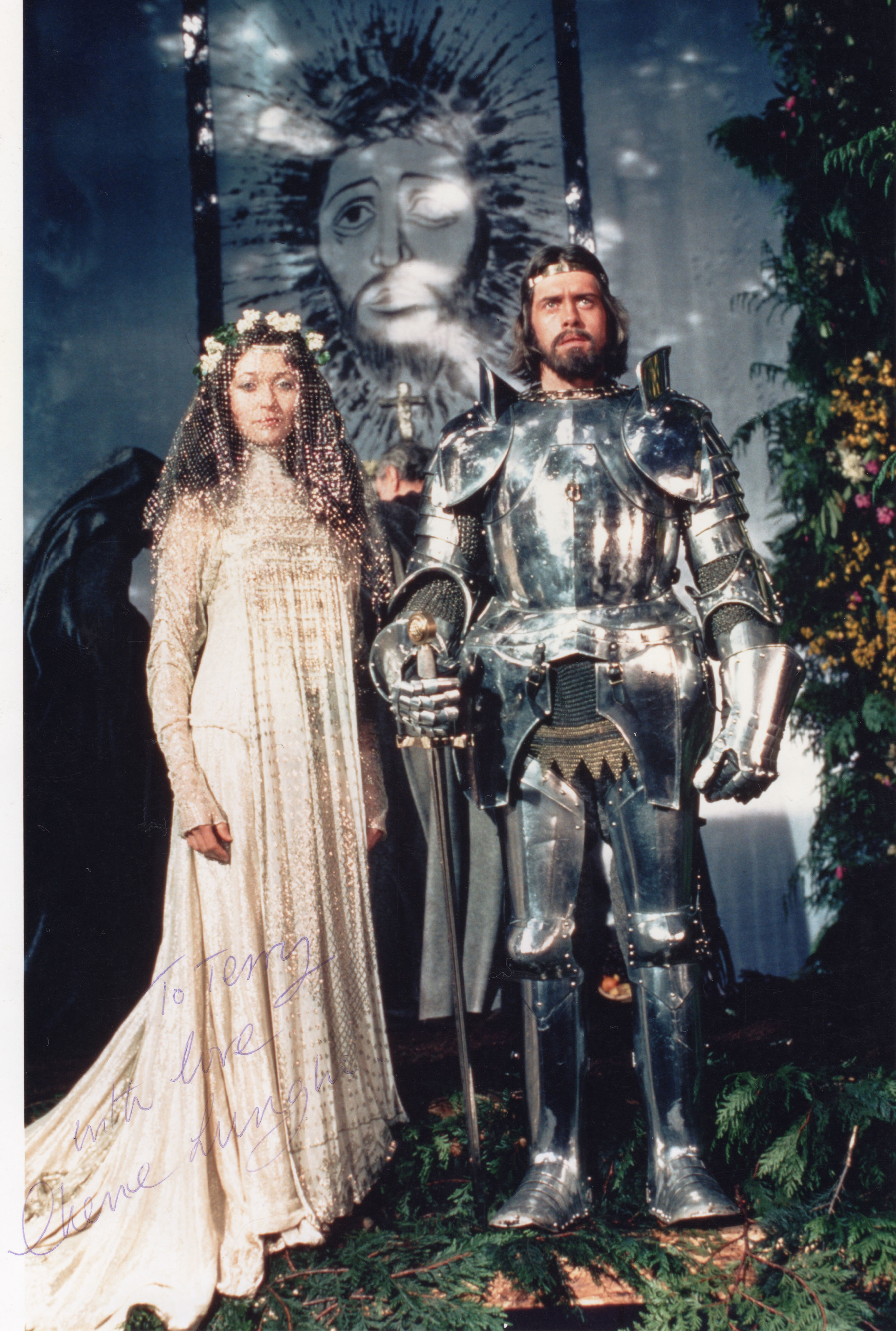 Nigel Terry & Cherie Lunghi