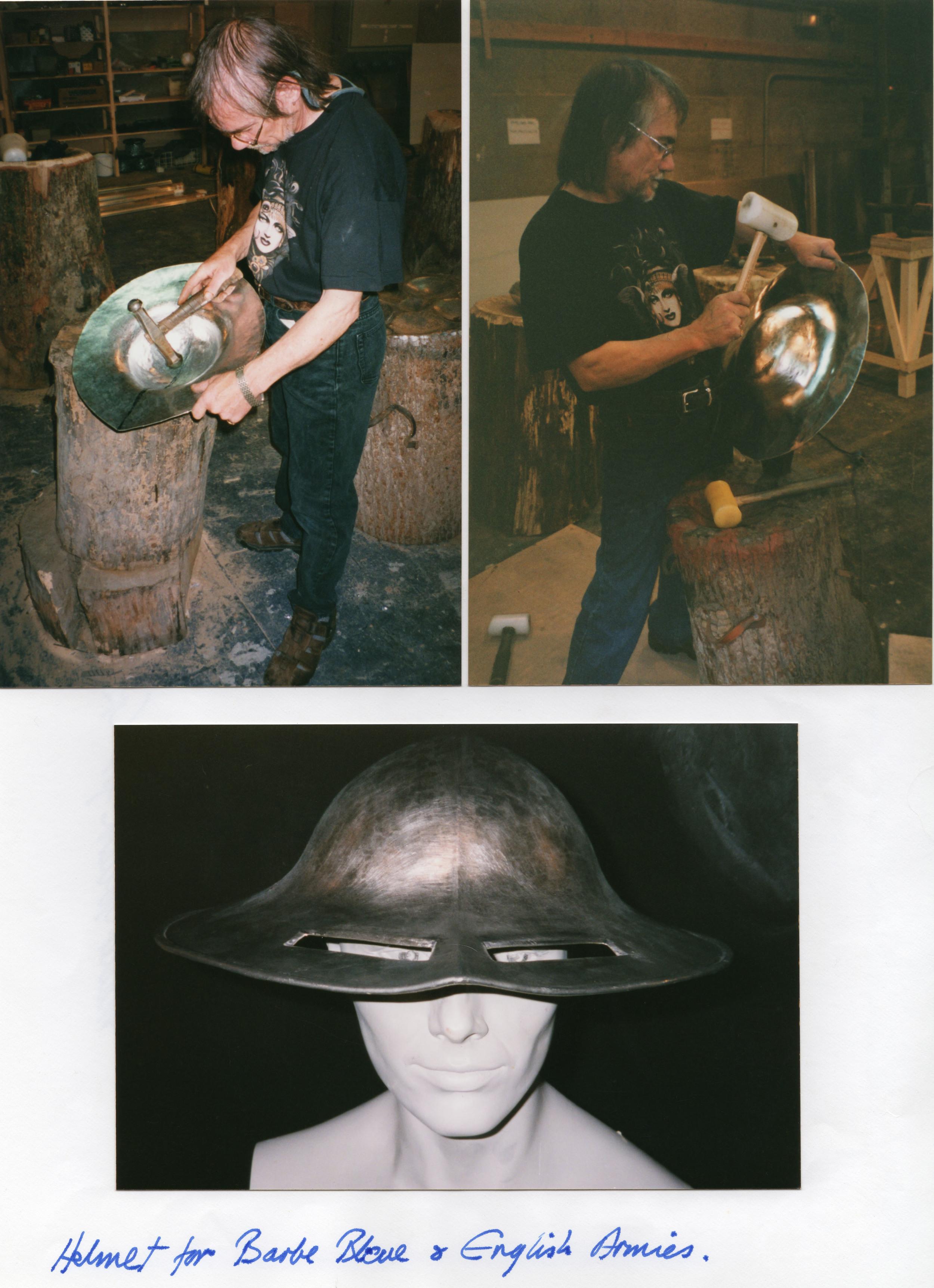 English Armies Helmet