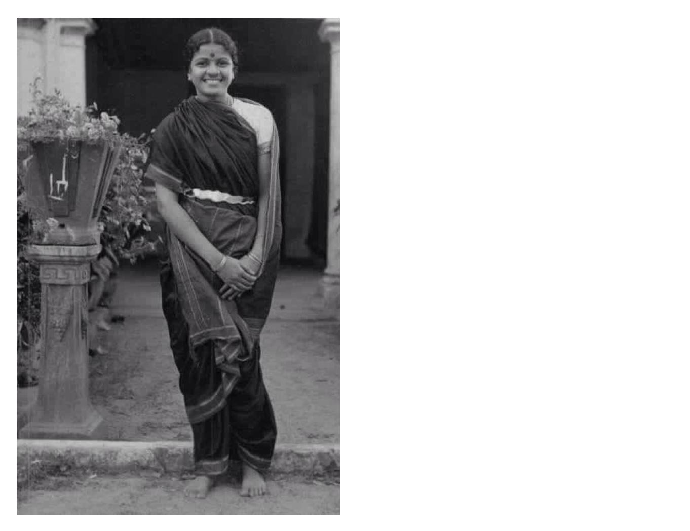 MS Subbalakshmi in a madisar