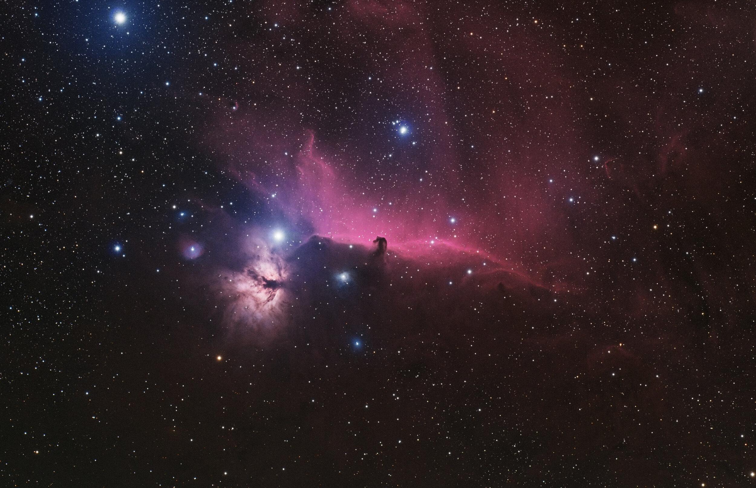 IC 434 Horsehead & Flame Nebulas