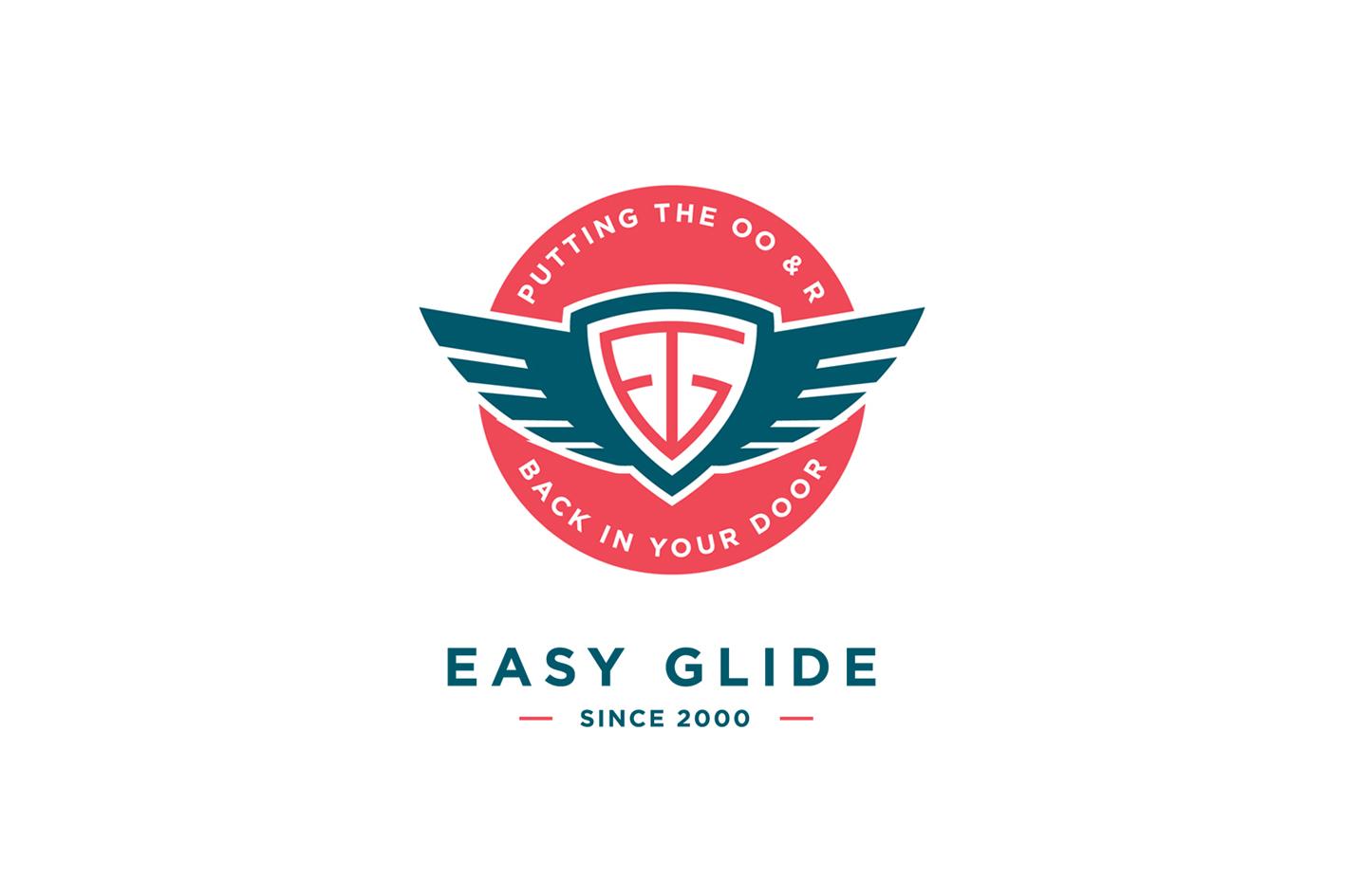 Easy Glide Australia Branding design for a door refurbishment company based in Sydney, Australia.