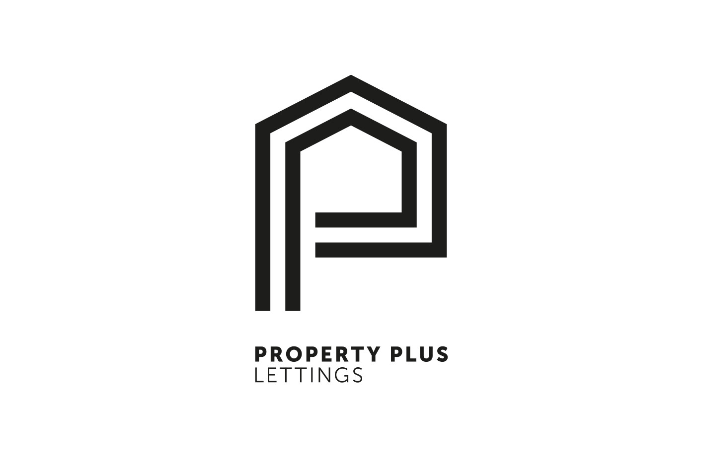 Property Plus Lettings  Branding for a well established property letting and sales company in the South East.