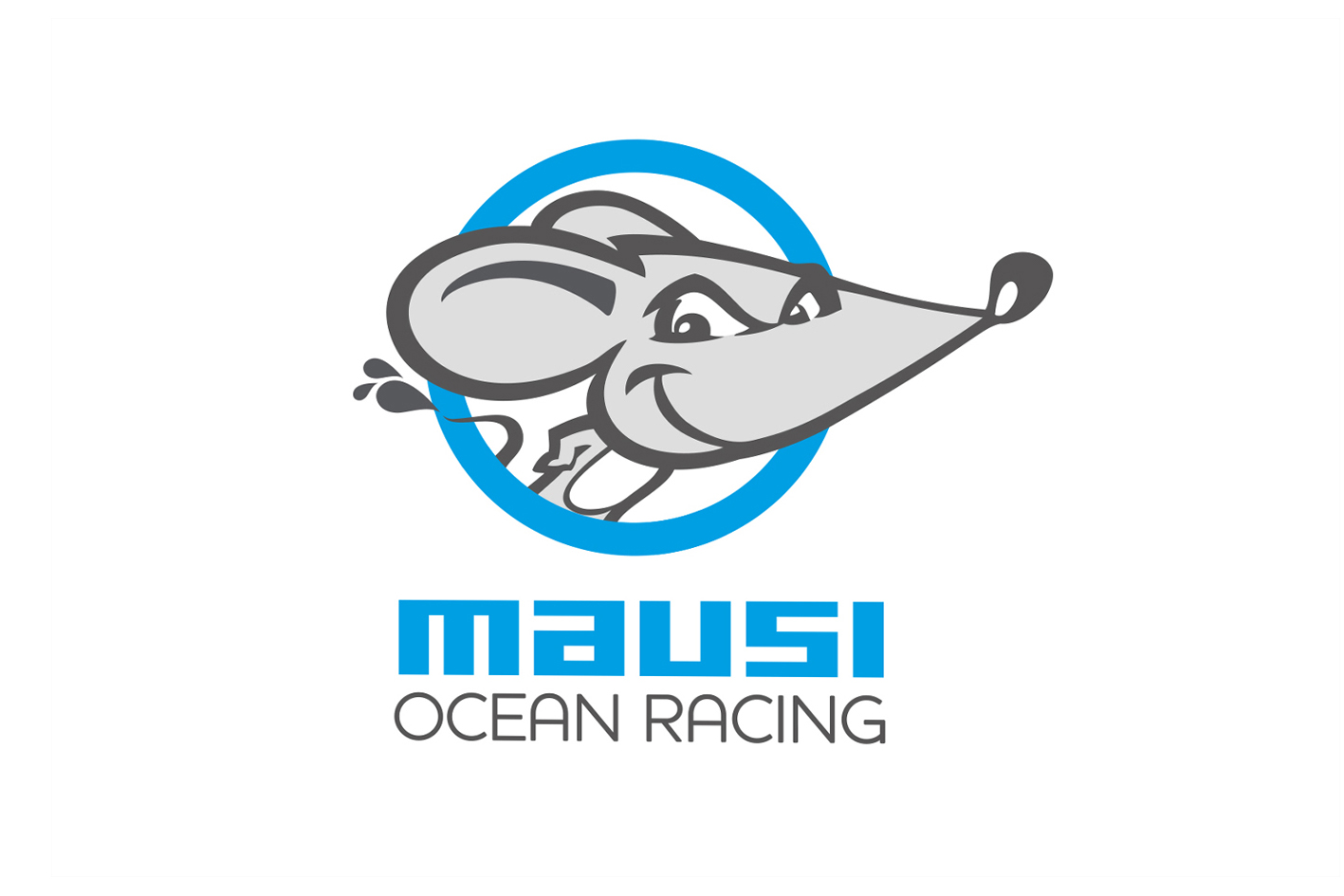 Mausi Ocean Racing  Branding for a global ocean racing company based in Palma, Mallorca. Character design in association with Chris Smedley at The Character Works.