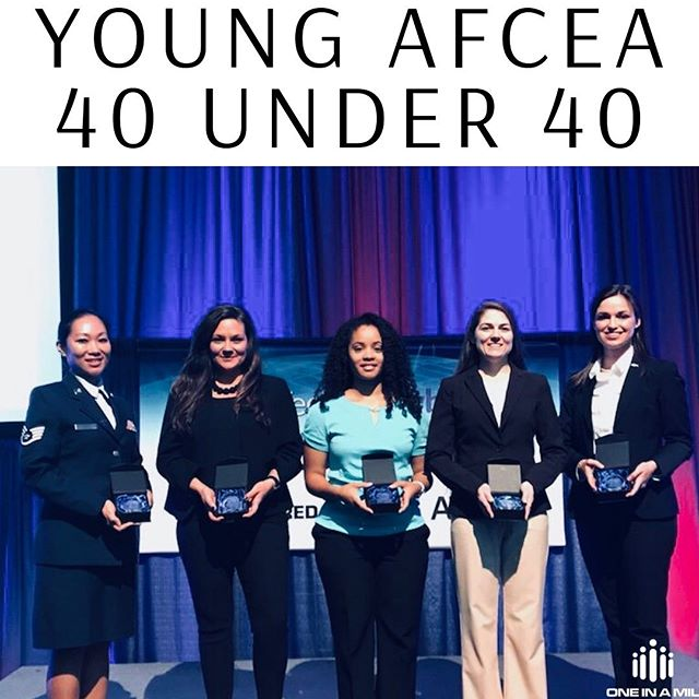 We are so proud of our Founder, LA Edwards, who is in Baltimore at TechNet Cyber receiving the 40 under 40 award!!! The Young AFCEA 40 Under 40 Award is given to 40 individuals ages 40 and under for their significant contributions in a technical science, technology, engineering and mathematics (STEM) field by providing innovation, thought leadership, and support to their client or organizations using information technology (IT)!