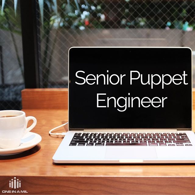 A Charleston client is looking for a Senior Puppet Engineer! Check it out and apply today, you could be the next member of this awesome team! Link in bio.